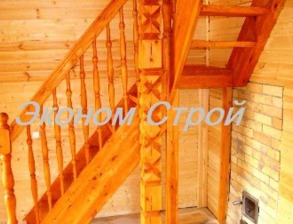 Небольшая лестница собрана построена