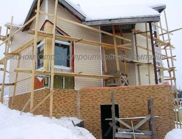 двухэтажных домов из пеноблоков